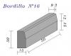 Bordillo N.16 15x30x50