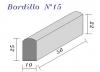 Bordillo N.15 10x25x50