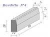 Bordillo N.4  28x14x50