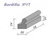 Bordillo N.17 24x20x32