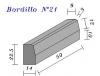 Bordillo N.21 22,5x14x50