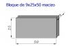 Bloque Macizo 9x25x50