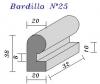 Bordillo N.25 20x38x33