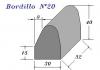 Bordillo N.20 30x40x33
