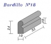 Bordillo N.18 24x10x32