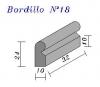 Bordillo N.18 24x10x32