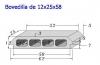 Bovedilla 12x25x60